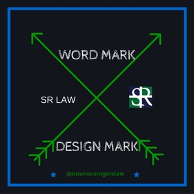 Trademark Image showing Standard Character Drawing/Word Mark vs Special Form Design/Design Mark by Maya Simmons Rogers